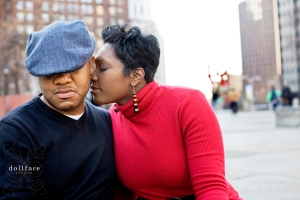 Noreen e shoot love park