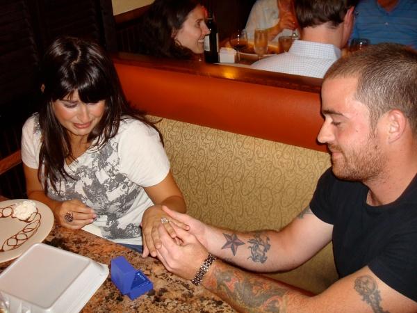 Jordan proposes to Liza! 009