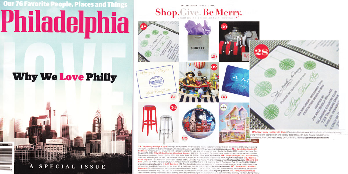 titus print philadelphia magazine december 2012 issue