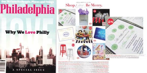 titus print philadelphia magazine december 2012 issue