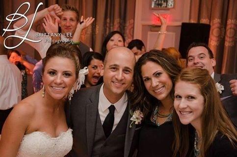 Love this pic of Frank, Amanda, Ashley and I at e Hotel Monaco.