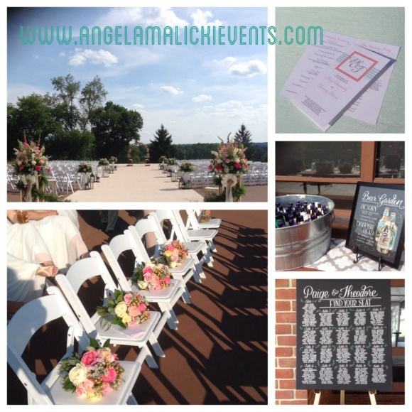 Outdoor ceremony space at the ACE Conference Center