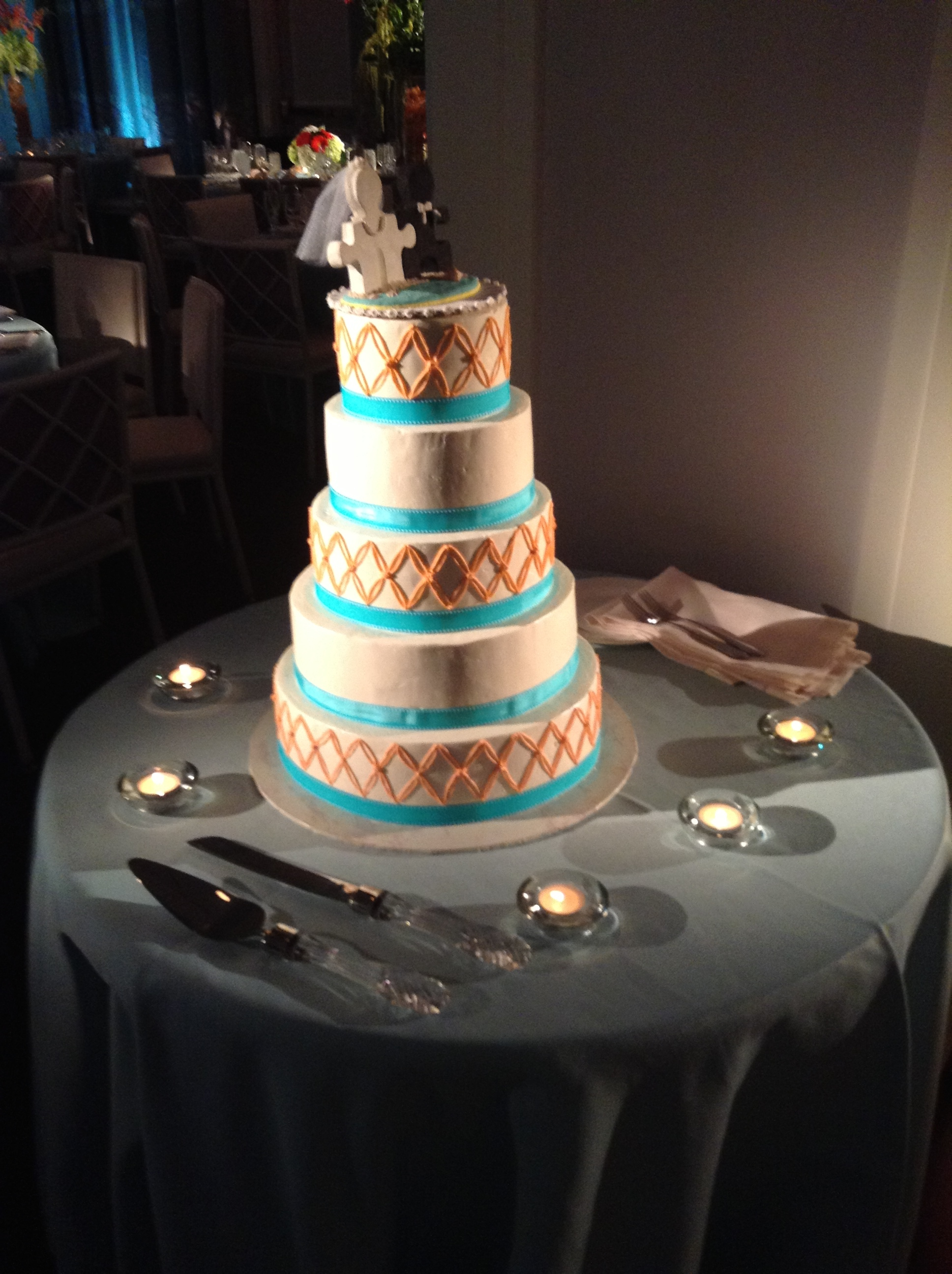Mary Kate and Dan's Wedding Cake - Hotel Monaco Philadelphia