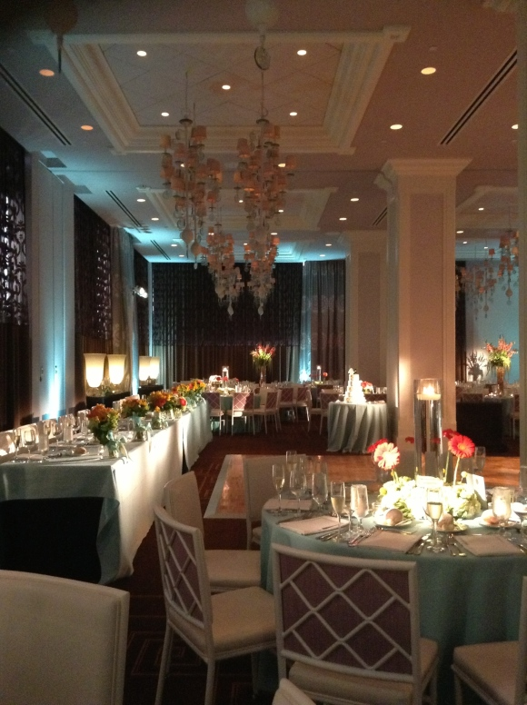 Photo of the Lafayette Ballroom in the Hotel Monaco Philadelphia