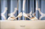 Kate Spade shoes with a sparkly heel - Photo by Joe Foley Photography