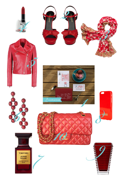Our Get the Look for Valentines Day - Titus Print, Chanel, Tom Ford - sounds good to me!